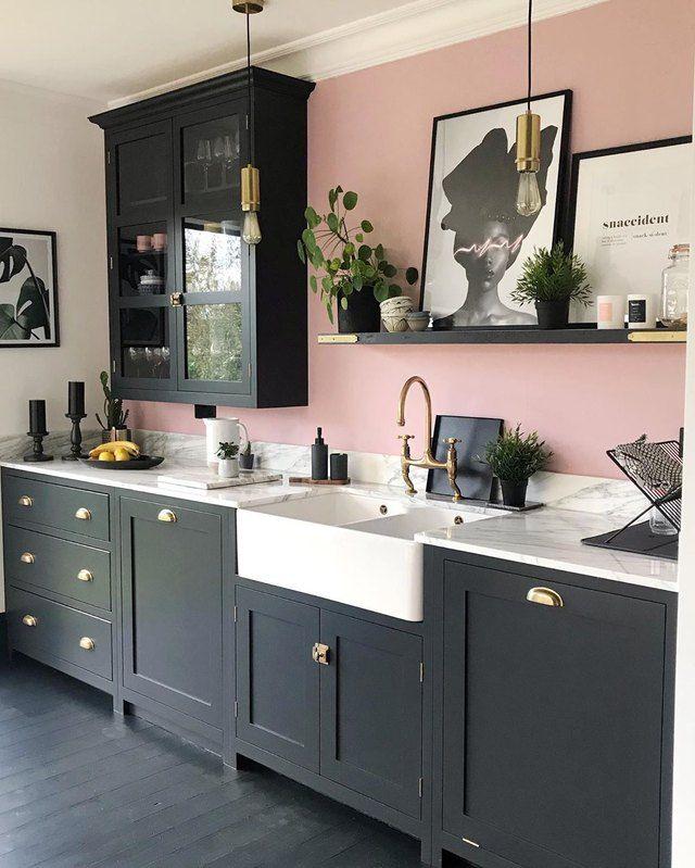 Black Kitchen Floor Ideas