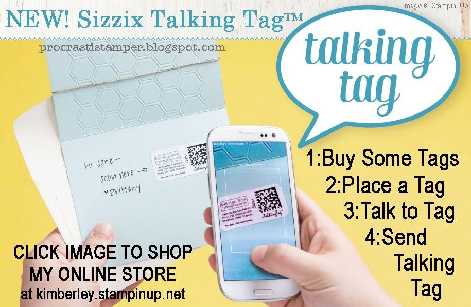 New talking tag by sizzix available from stampin up perfect for new talking tag by sizzix available from stampin up perfect for sending personalized rubber stampinggreeting cardsmessagesmessage m4hsunfo