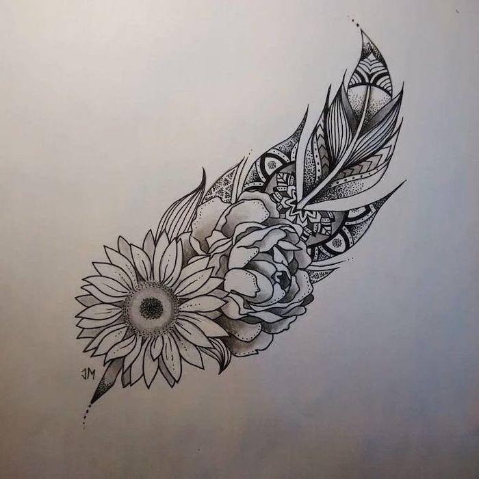 ▷ 1001 + ideas for the beauty and symbolism of a mandala tattoo #mandala
