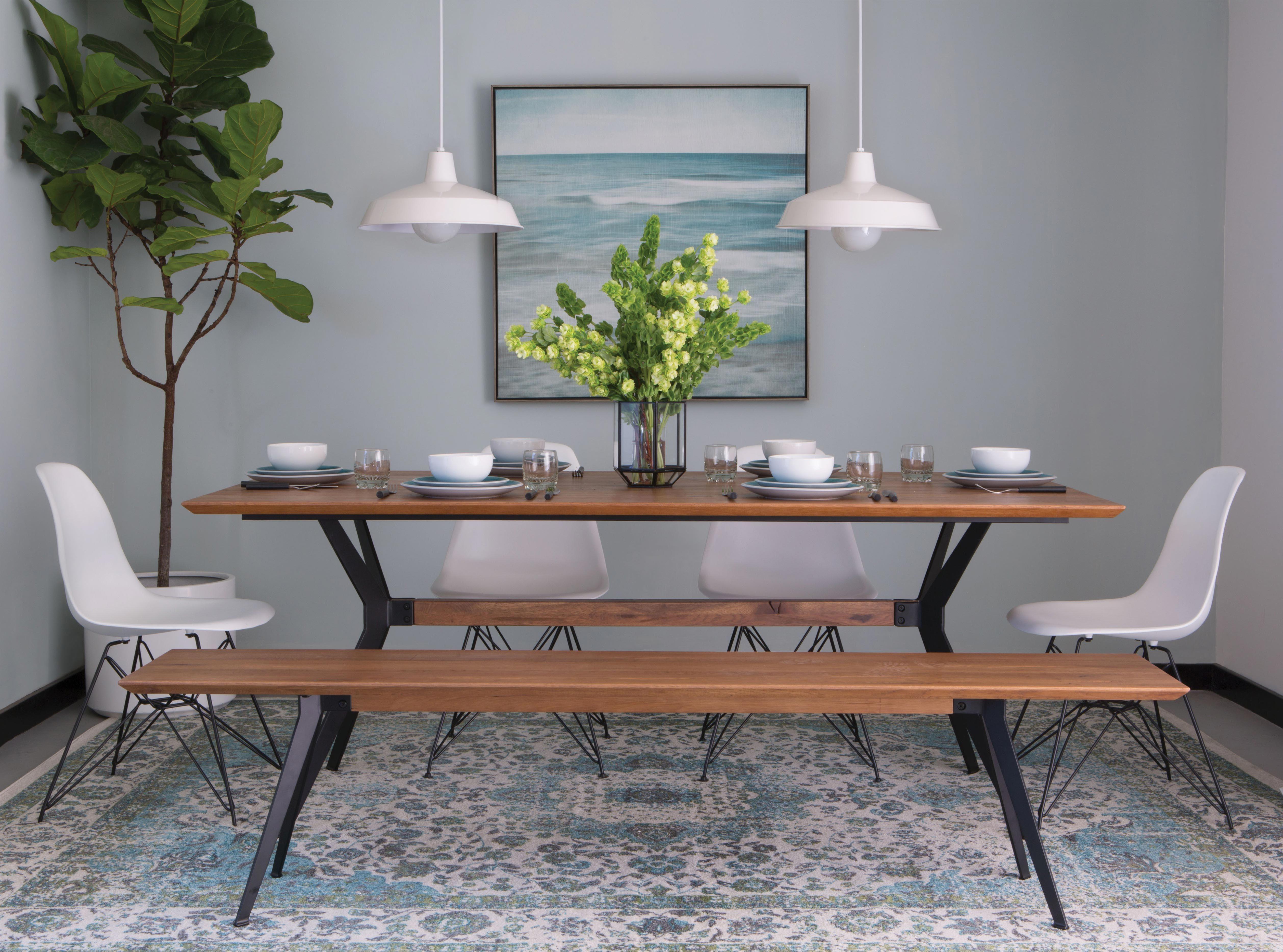 Dinner is served. #BonAppetit #LivingSpaces | Dining Room ...