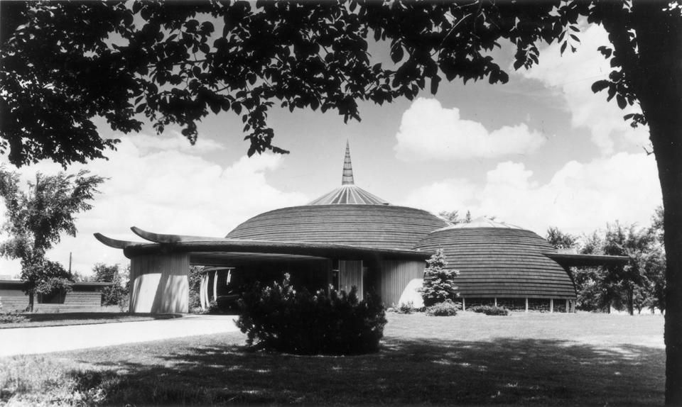 Ford House Aurora By Bruce Goff 1949 With Images