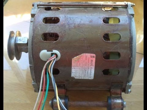 Motor 6 Cables Identificar Sin Multimetro 6 Wires Washer