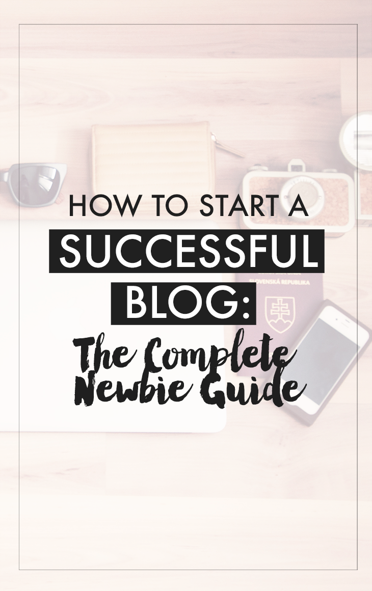 How To Start A Successful Blog: The Complete Newbie Guide - Are you someone who wants to start a blog? Or know someone that needs help with building a blog? Here's a useful guide for you. In this post, you'll learn how to: - Find the right niche for your blog - Finding a web hosting + domain registrar - Setting up your blog with WordPress - Places to get WordPress themes - Plugins to use