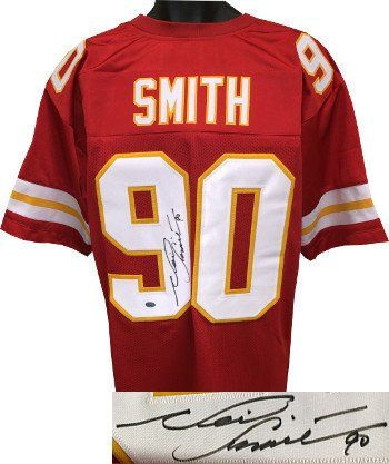 best loved 145dd d84f7 Neil Smith Kansas City Chiefs Throwback Jerseys | Cool KC ...