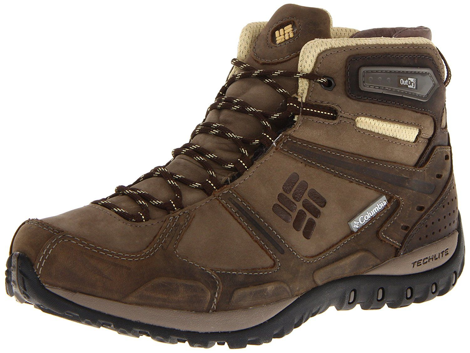 Columbia Women S Yama Mid Leather Outdry Hiking Shoe Want Additional Info Click On The Image Brown Boots Women Hiking Shoes Women Hiking Women