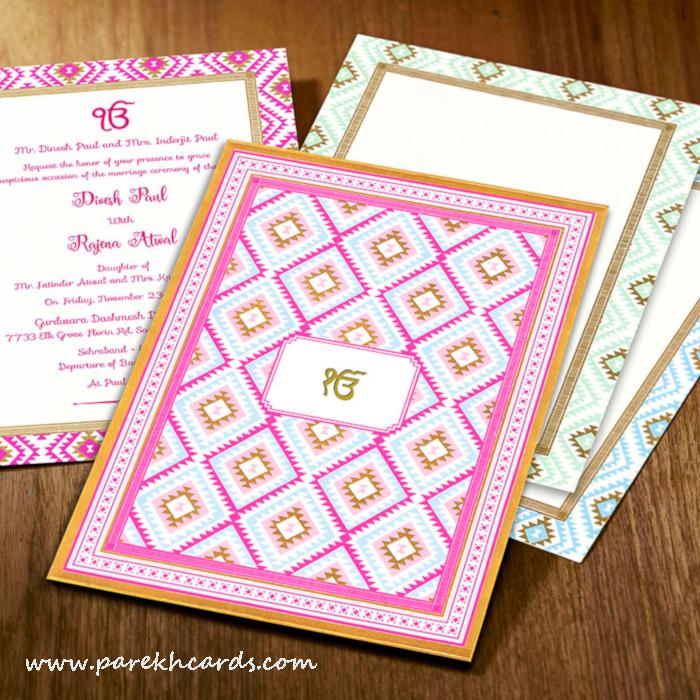 pin on sikh wedding invitations