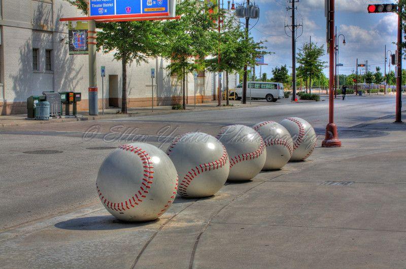 Houston, Texas - Ellen Yeates. Astros Baseball.