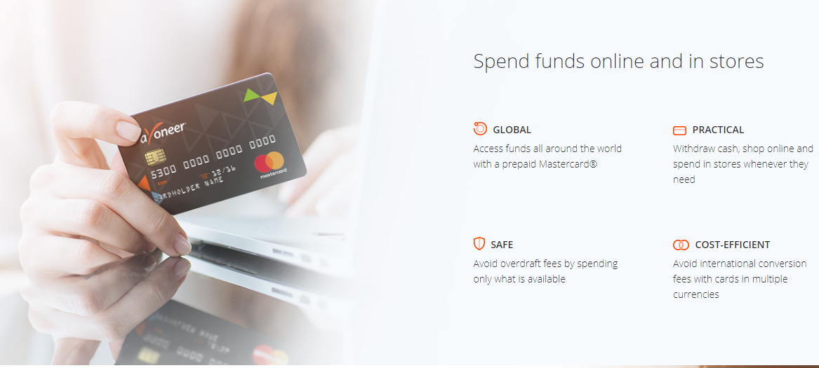 In today's borderless digital world, Payoneer enables
