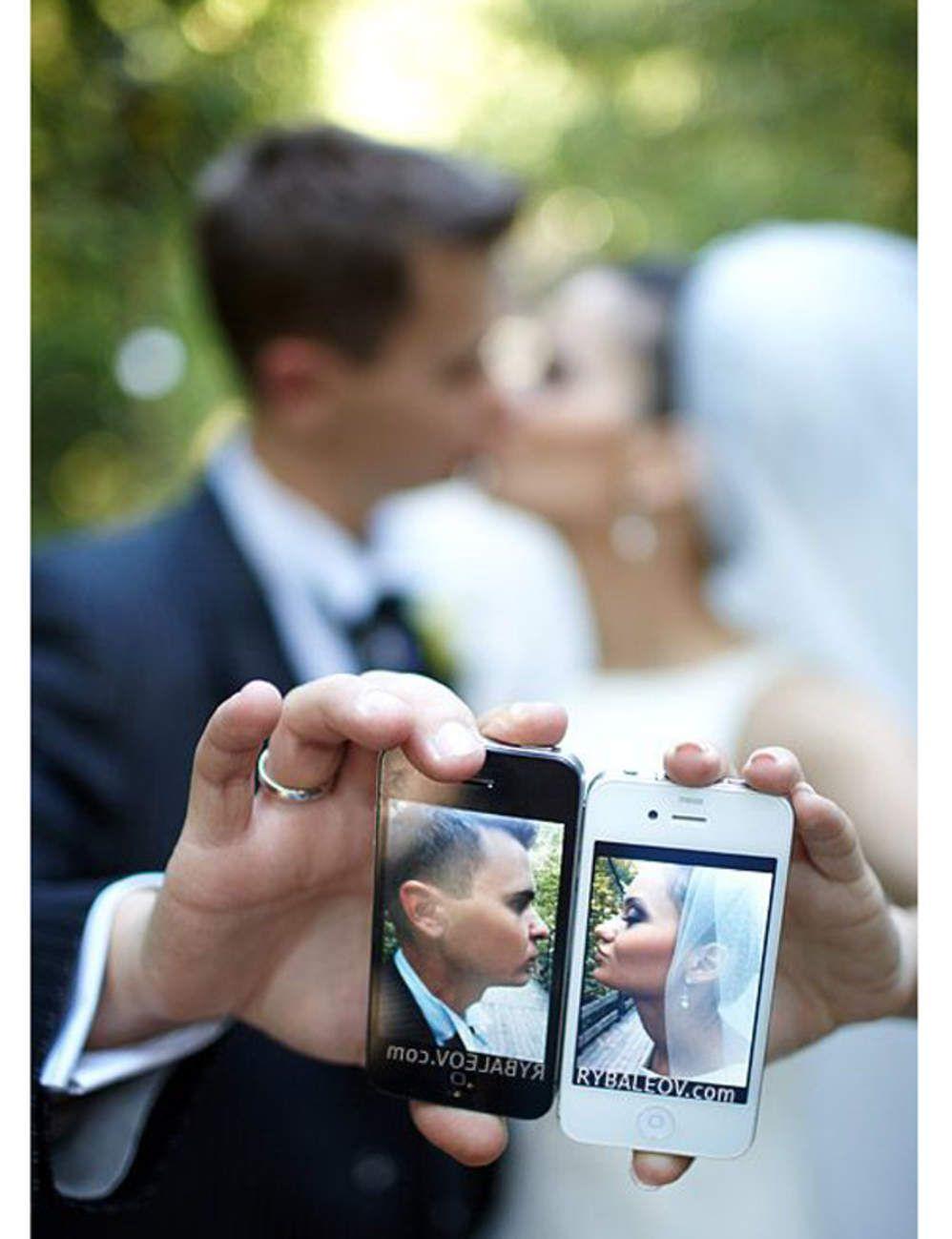 Trompe l 39 oeil mariage 10 id es de photos de couple originales coupl - Idees mariages originales ...