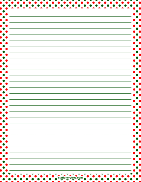 christmas border writing paper Free printable page borders in doc, pdf, png, and jpg format.
