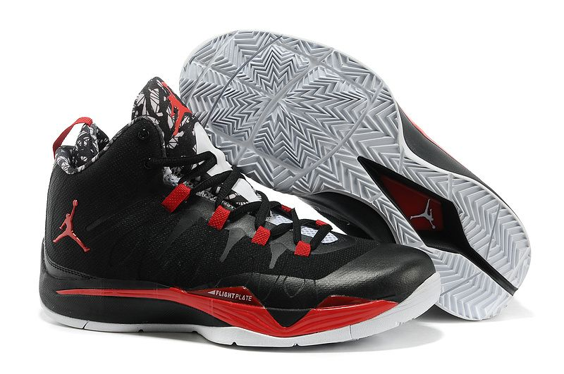 New Black/Bright Crimson-Gym Red-White Jordan Super. Global Online Shopping  for Hot and New Cheap Nike Shoes ...
