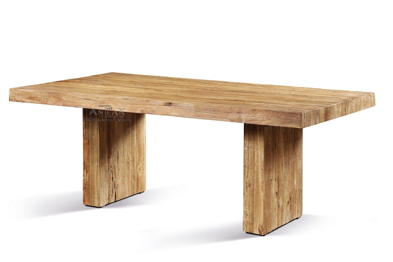 teak tisch, teakholz tische, landhausmöbel, massivholz tisch, teak, Esszimmer dekoo