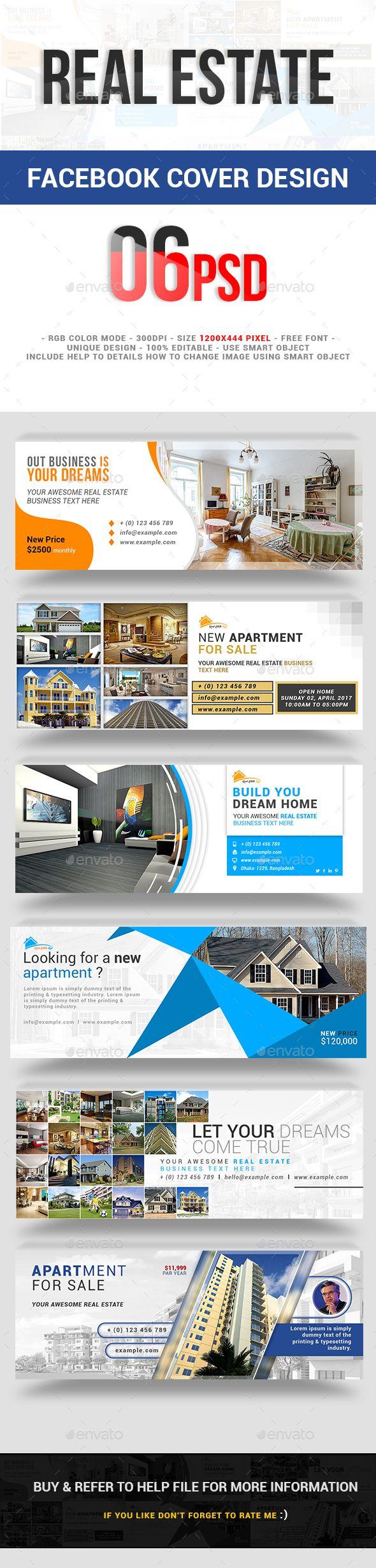 Real Estate Facebook Cover Design Templates Psd Facebook Timeline