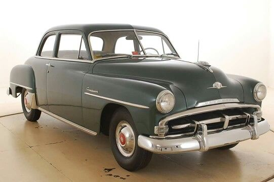 1952 Plymouth Cranbrook 4 Door Sedan Plymouth Cars Chevrolet Sedan Classic Cars Trucks