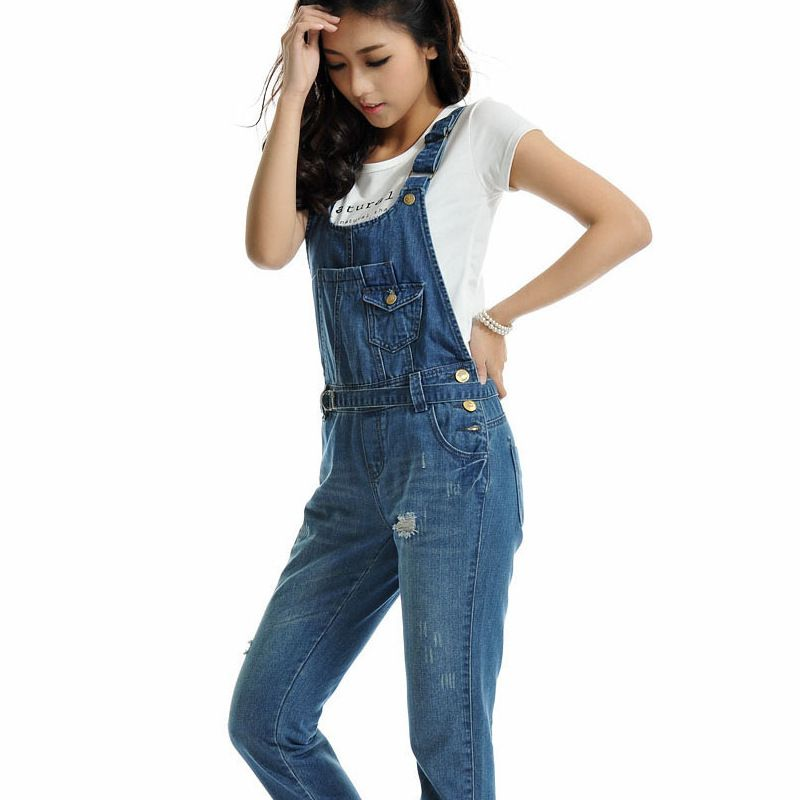 60% cheap look good shoes sale pretty and colorful New Fashion women's jeans,Plus size Ladies' overalls ...