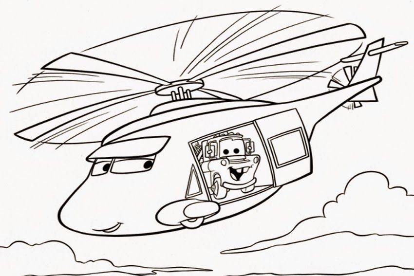 free coloring pages of cars 2 lightning mcqueen  cartoon