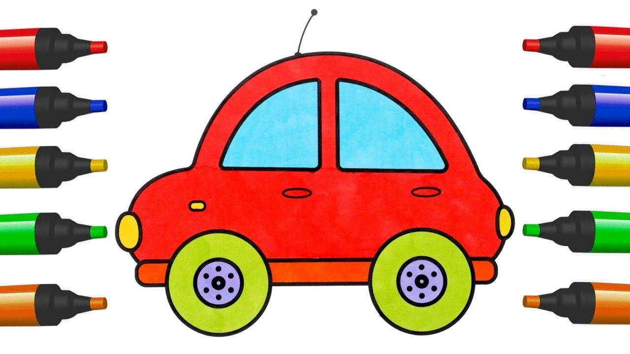 How To Draw Car Toys For Kids Coloring Pages Car Toys For