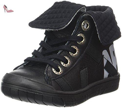 Babybotte Kozima, Sneakers Hautes Fille, Noir (272 Noir), 28 EU (UK Child 10 Enfant UK)