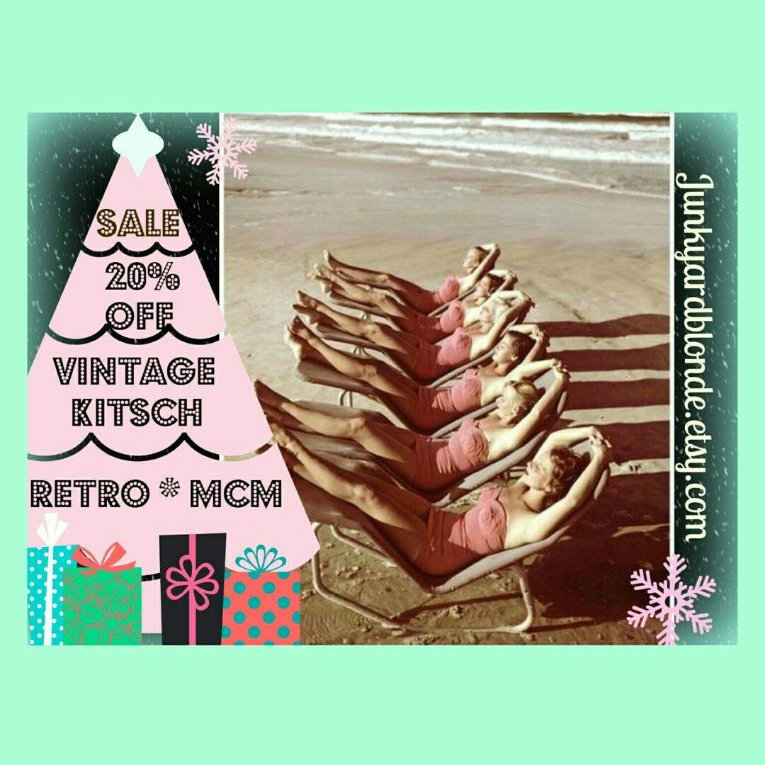 Christmas In July Sale 20 Off Storewide Plus Extra 20 Off At Checkout With Coupon Code Jybvip20 On 2 Vintage Sales Vintage Kitsch Christmas In July Sale
