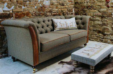 Tweed Leather Harris Sofa Range Tweed Furniture Sofa Leather Sofa