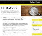 CFPB Monitor