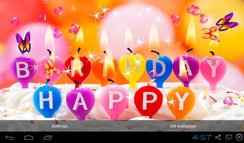 Happy Birthday Live Wallpaper Download Happy Birthday Live Happy Birthday Candles Happy Birthday Wishes Images Birthday Wishes And Images
