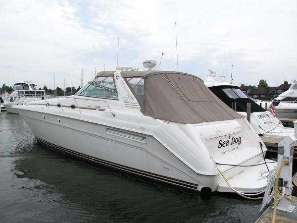 1997 Sea Ray 50 SunDancer-Twin Detroit Diesel 6V92 DDEC