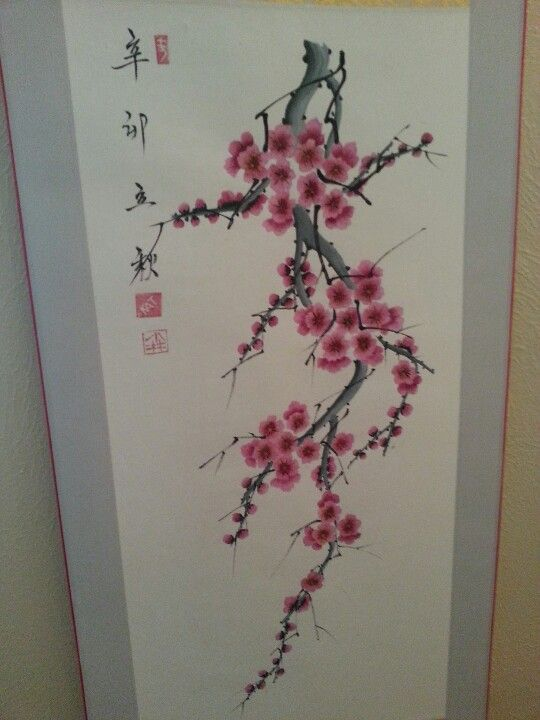 Pin By Kat Coe On Painting Cherry Blossom Art Cherry Blossom Drawing Tree Tattoo
