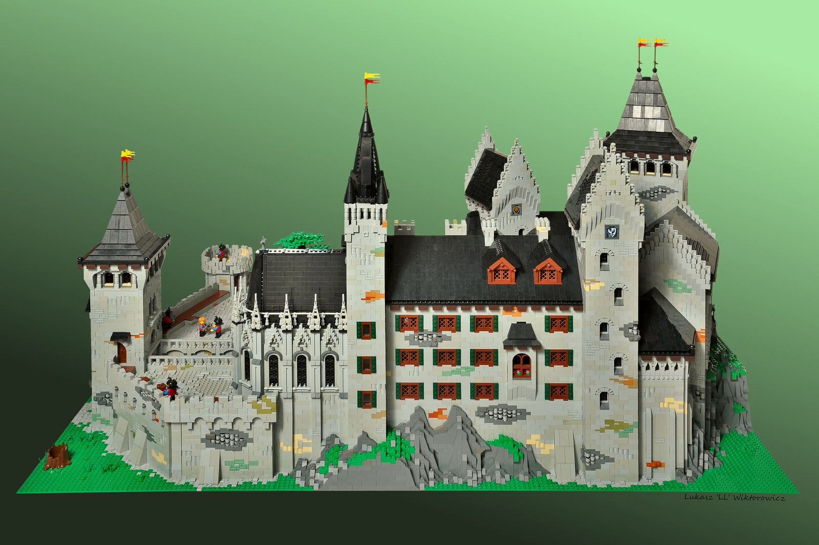Christopher And Isabell S Castle Lego Castle Lego Design Lego Brick