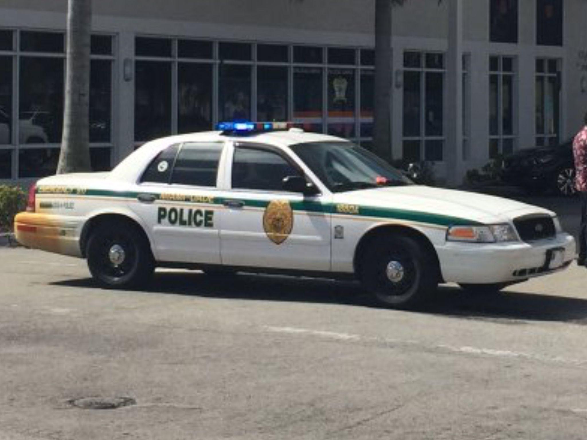 Miami dade police ford crown victoria