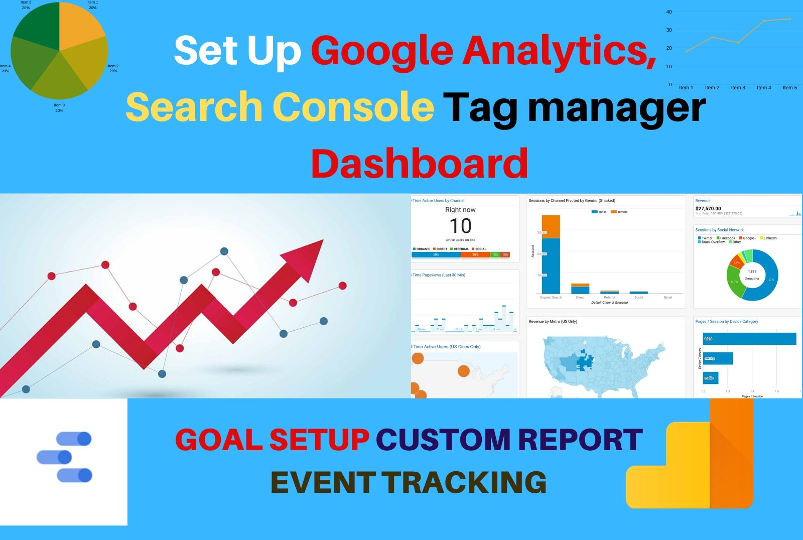 Set Up Google Analytics With Tag Manager And Search Console For