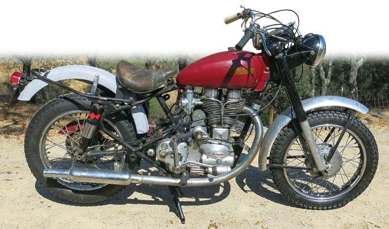 Retrospective 1955 1959 Indian Woodsman 500 Vintage Indian Motorcycles Vintage Motorcycles Indian