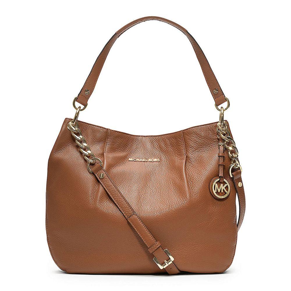 a5627d90f32f Michael Kors  Bedford  Large Luggage Leather Convertible Shoulder Bag