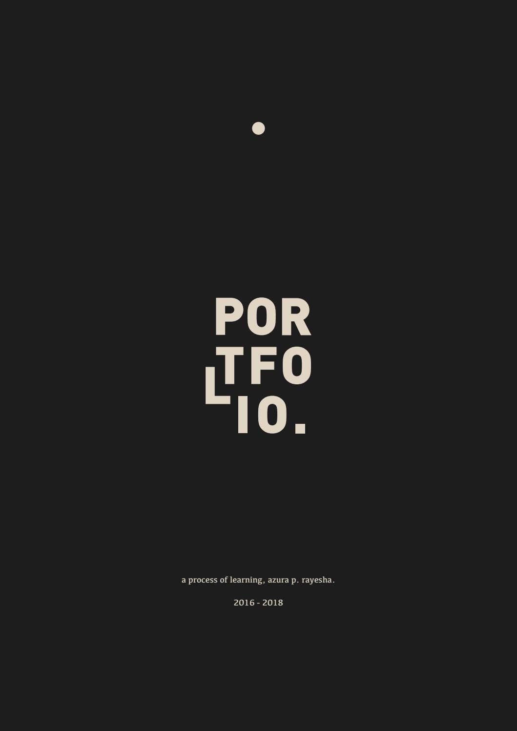 2018 portfolio