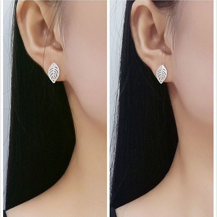 Girls Cloud delicate Ear Studs 925 Sterling Silver