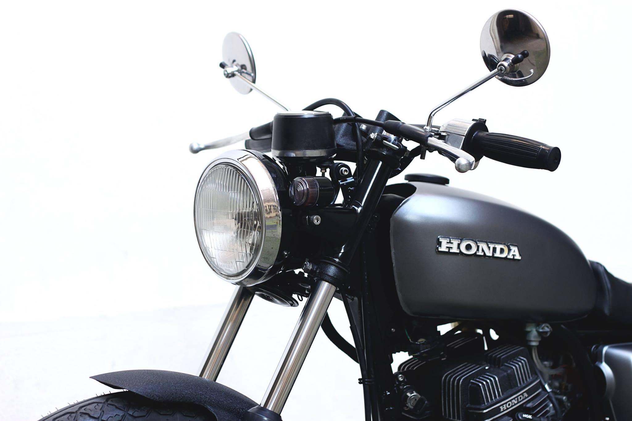 98' Honda CM125 - Dauphine Lamarck