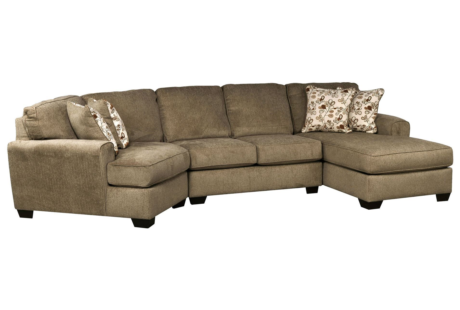 Cuddler Sectional Sofa Canada Kaspar Slate Grey Fabric Fresh