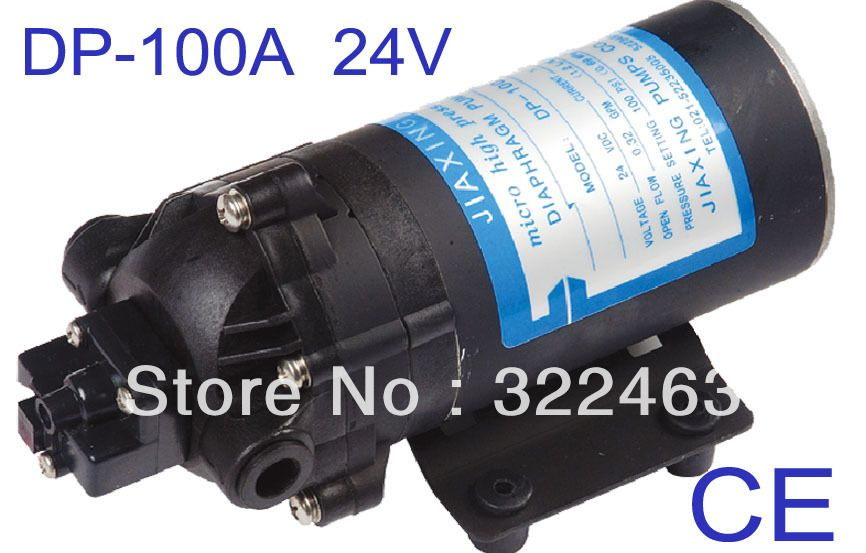 Ce Approved Diaphragm Pumps Dp 100a Dc 24v Diaphragm Pump Pumps Water Pumps
