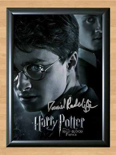 Harry Potter Hermione Ron Weasley Cast Signed Autographed A4 Poster Print Photo