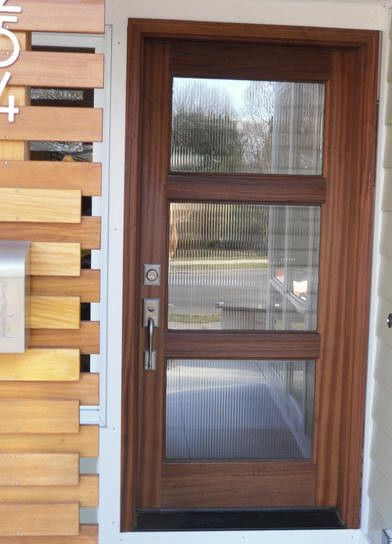 modern doors wood and glass entry door - Modern Glass Exterior Doors