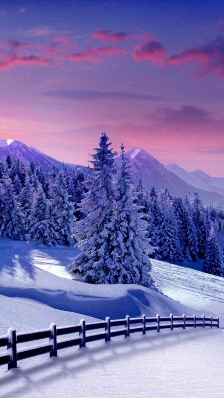 4k Ultra Hd Wallpapers Winter Landscape Winter Scenery Scenery