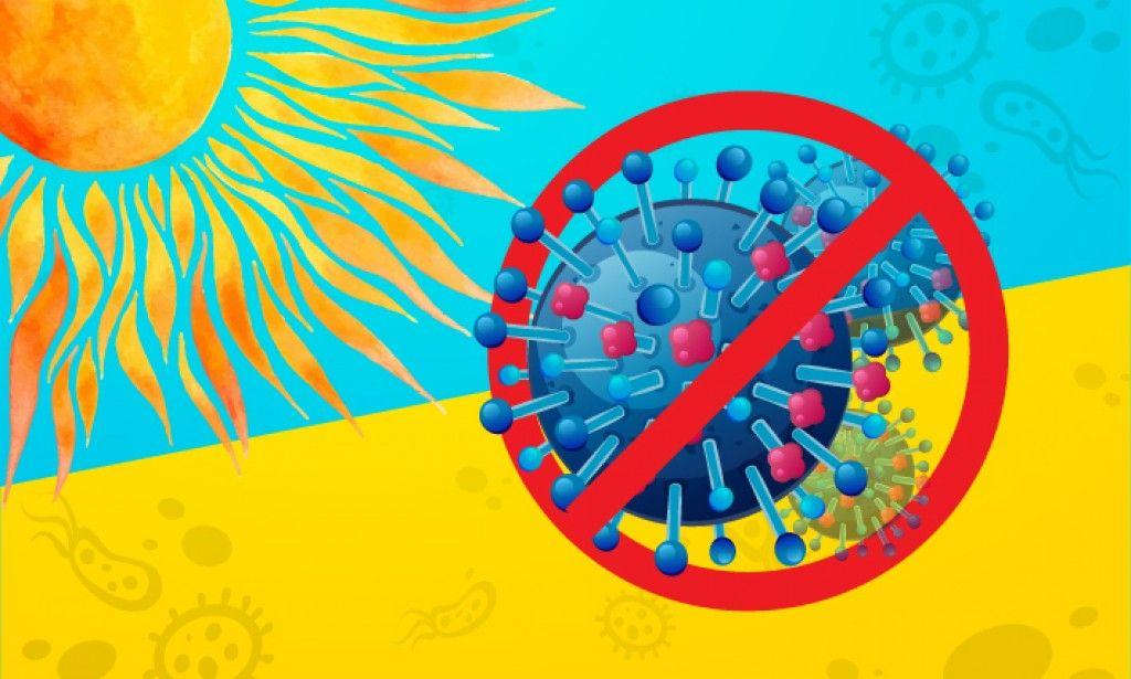 فيروس كورونا والصيف هل تقتل اشعة الشمس فيروس كورونا يضعف مع ارتفاع درجة الحرارة Peace Symbol Art Symbols