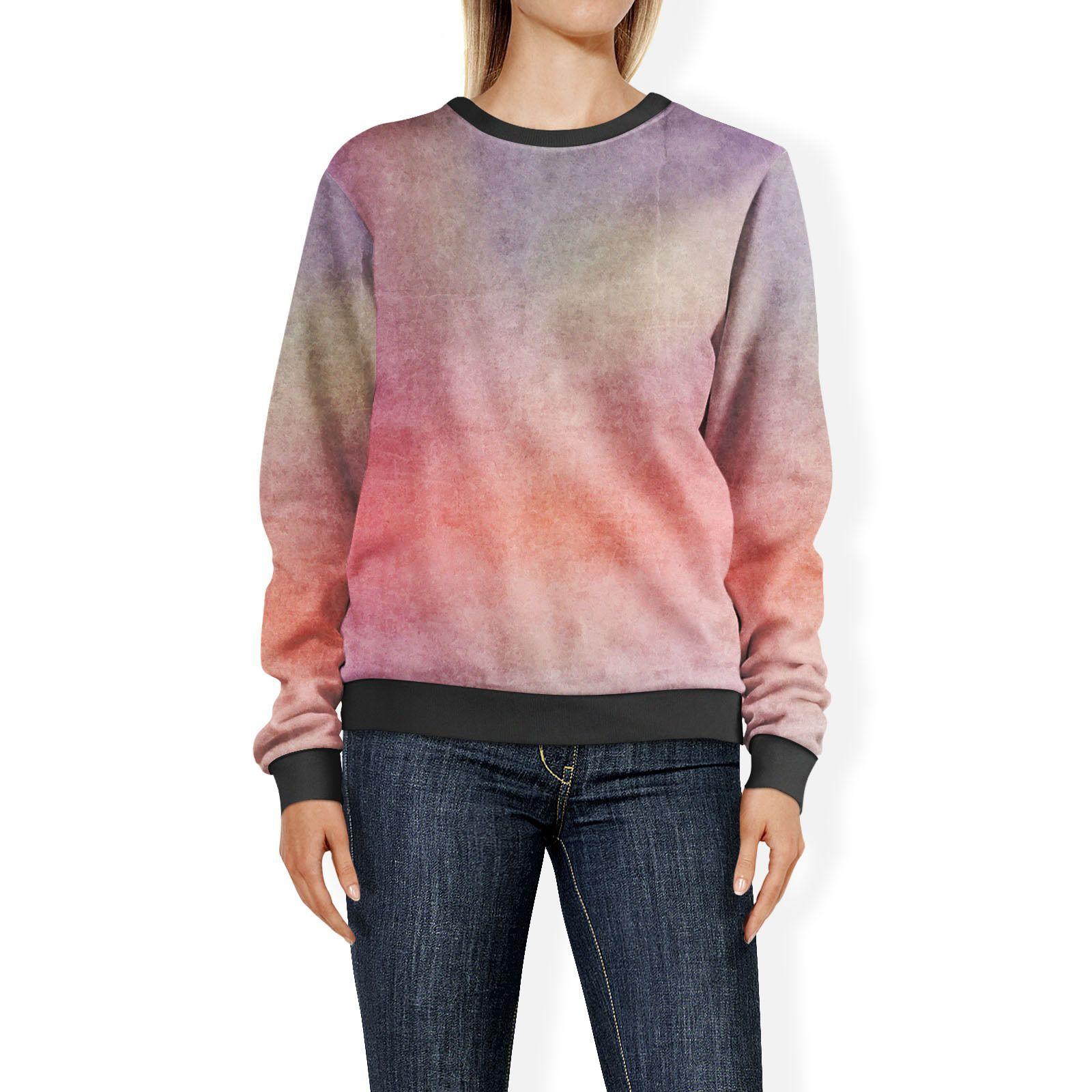 Abstract Sunset Sweatshirt Sweater XS-3XL