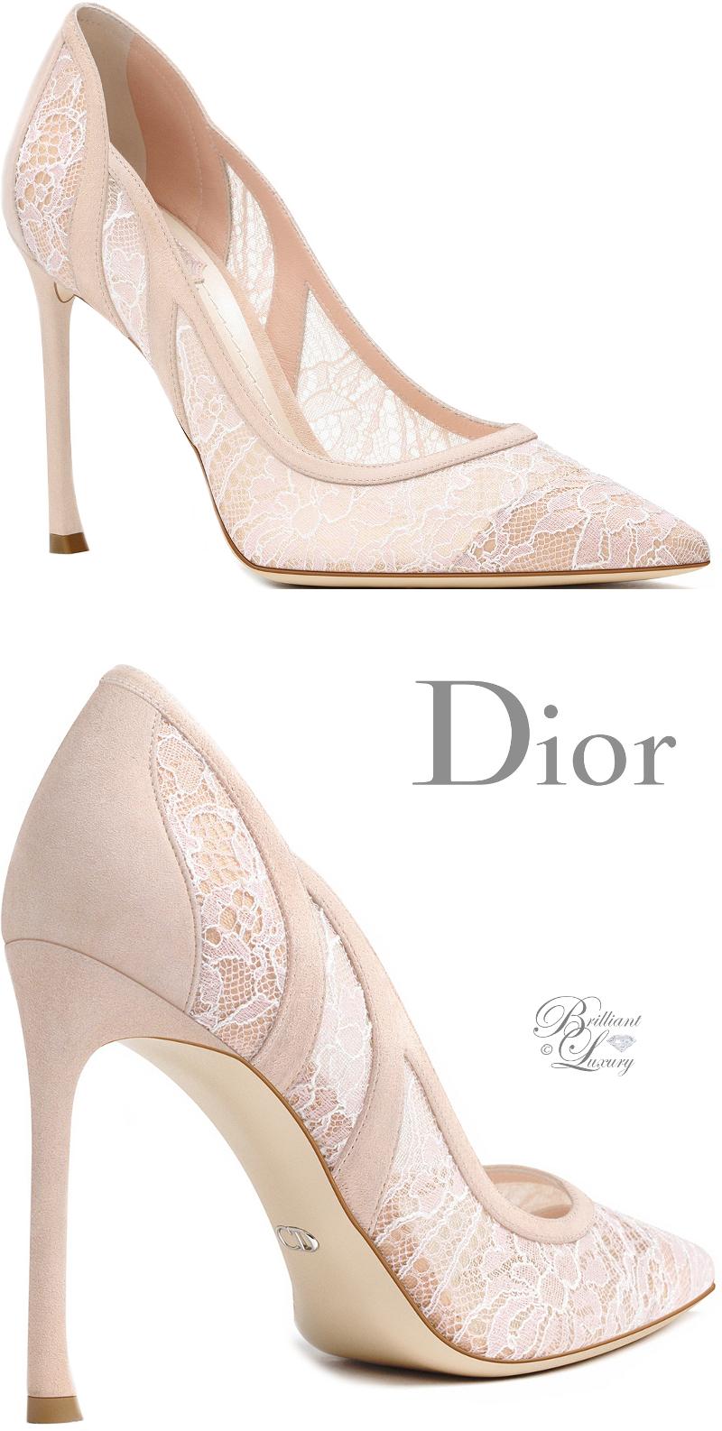 Dior shoes, Lace pumps