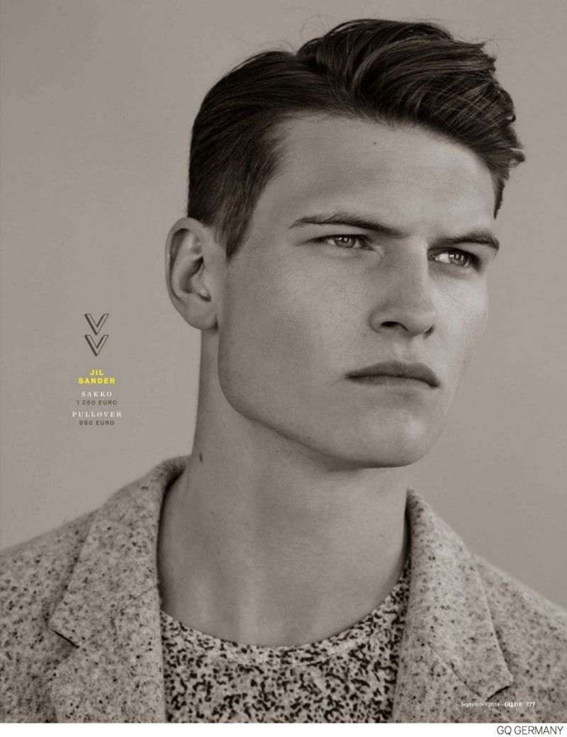 Haircuts for men with designs fall  menswear collections gq germany highlights best for