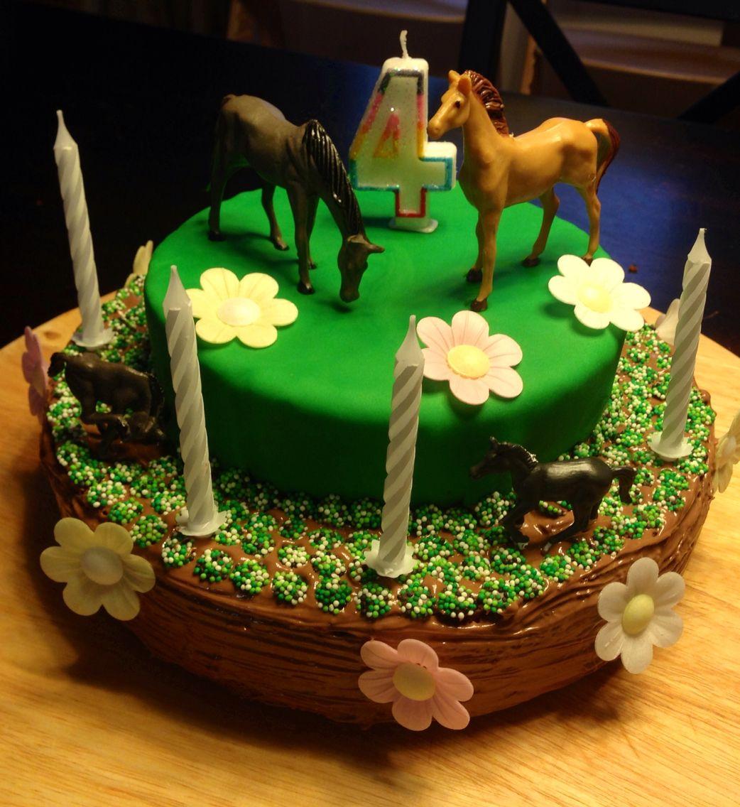 pferde kuchen birthday cake with horses basteln und. Black Bedroom Furniture Sets. Home Design Ideas