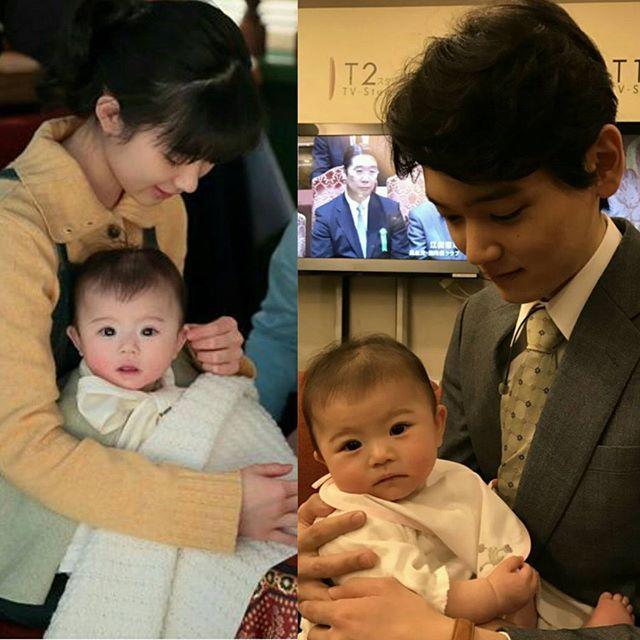 with mom and dad #Beppinsan #べっぴんさん #yukifurukawa # ... Yuki Furukawa 2019