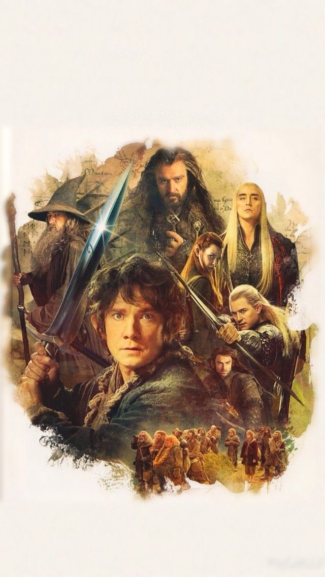 The Hobbit IPhone 5 Wallpaper
