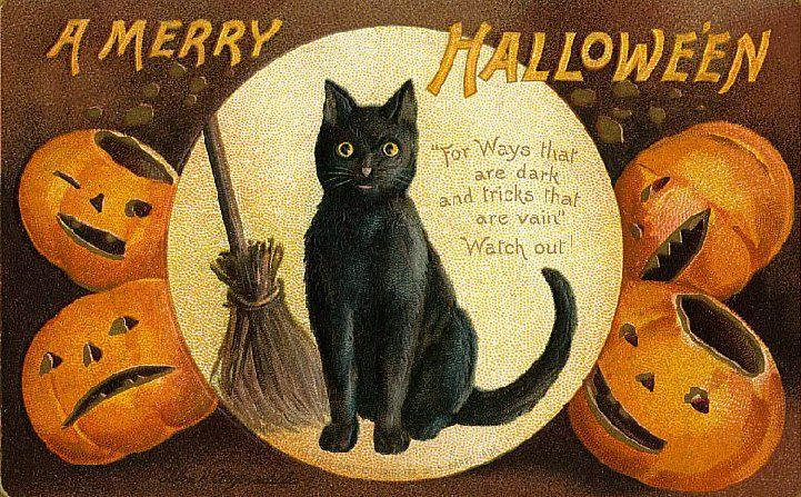 A Merry Hallowe'en - 'For ways that are dark and tricks that are vain' - Watch out !