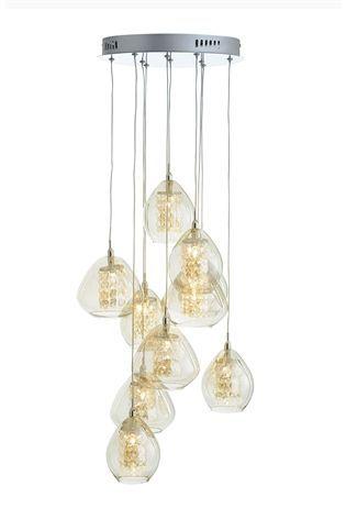 Buy Bella 10 Light Cluster Pendant Online Today At Next Rep Of Ireland